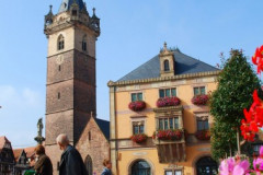 Le tour de la vieille ville d'Obernai