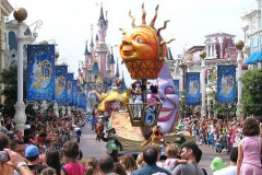 Les attractions de Disneyland Paris