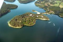 La Presqu' île du Puech des Ouilhes
