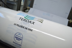 Centre de production de boue thermale Terdax