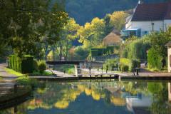 Le canal de Bourgogne à vélo