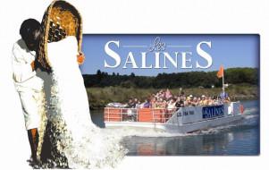 Les Salines en bateau