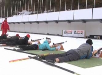 Du biathlon au « Grand-Bornand » en Haute-Savoie !