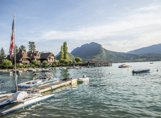 Un week-end au bord du lac d'Annecy