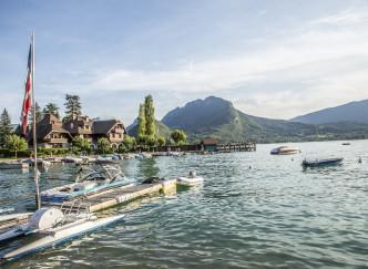 Un week-end au bord du lac d'Annecy