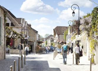 Promenade autour de Barbizon à Fontainebleau