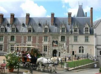 Balade en attelage à Blois