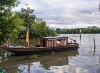 Le bateau-atelier - Sur les traces de Claude Monet