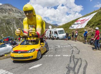 Les étapes du Tour de France 2017