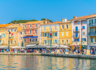 Un week-end à Saint-Tropez