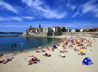 Plages d'Antibes