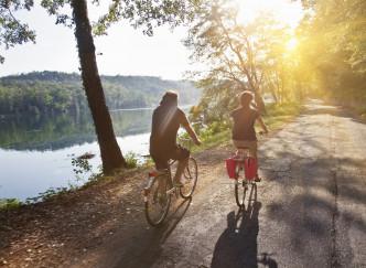 Escapade à vélo sur la ViaRhôna