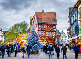 La saison des marchés de Noël est de retour