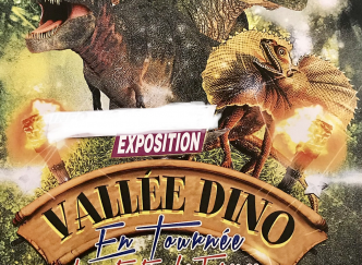 Exposition la vallée des dinosaures
