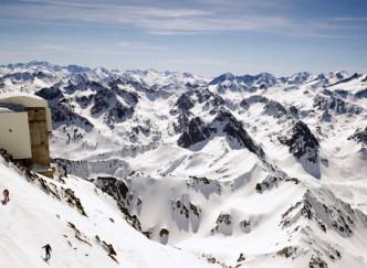 Descente en freeride du Pic du Midi