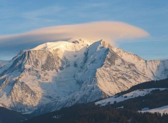 Une nuit magique face au Mont-Blanc