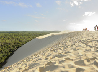 Monter sur la Dune du Pilat