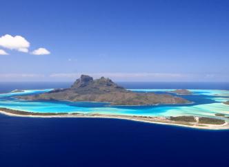 Polynésie : Une île vendue aux enchères !