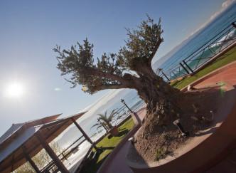 Restaurant A Rena d'Oro de l'hôtel Le Palm Beach