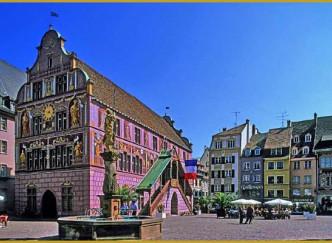 Le Centre ville historique de Mulhouse