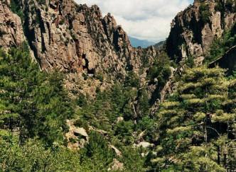 Les Gorges de Tavignano et le Lac de Nino