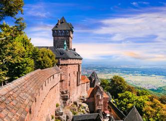 Sur la Route des Châteaux d'Alsace