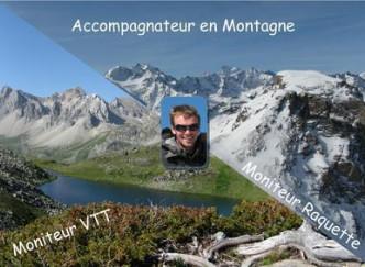 Sébastien RENAUD  - Accompagnateur en Montagne - Moniteur Raquette et VTT