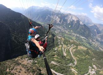 Les sommets idéaux pour faire du parapente en France
