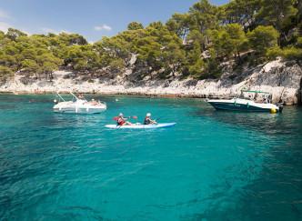 Découvrir les Calanques en Kayak