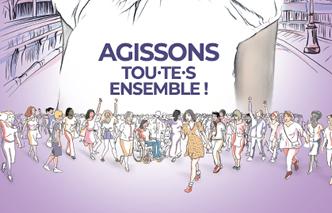 Les initiatives françaises pour la Journée internationale des droits de la femme