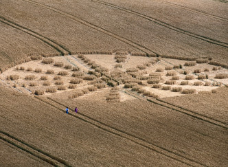 Spécial Halloween : des Crop Circles en France