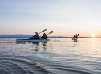 L'île de beauté en kayak