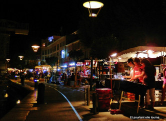 Marché nocturne de La Ciotat