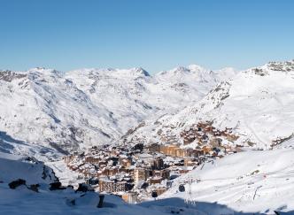"""Val Thorens est élue """"meilleure station de ski du monde"""""""