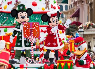 Profitez de la magie de Noël à Disneyland Paris