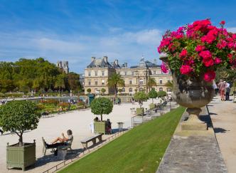 Une journée au jardin du Luxembourg