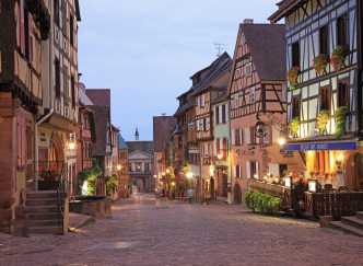Charmants villages d'Alsace