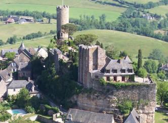 Les plus beaux villages classés : Turenne et Saint-Robert