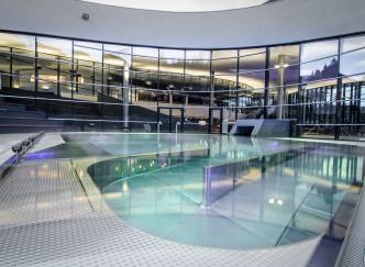 Aquamotion by Courchevel: un extraordinaire vaisseau aqualudique au pied des pistes