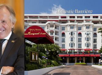 Portrait de Roger Bastoni, concierge de l'Hôtel Barrière Le Majestic à Cannes