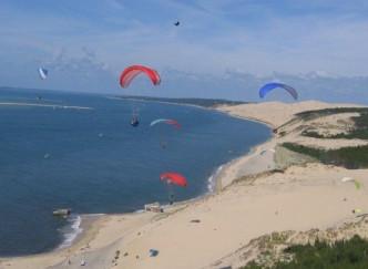 Vol Libre au dessus de la Dune du Pilat