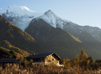 Dormir face au Mont-Blanc