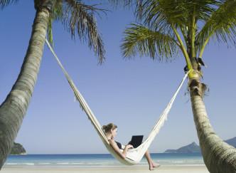5 astuces pour avoir l'impression d'être en vacances quand on travaille