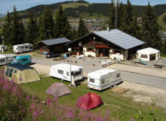 Camping Caravaneige le Grand Tetras