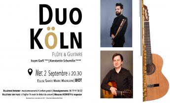 Concert de musique classique à Biot - Mercredi 2 septembre 2020