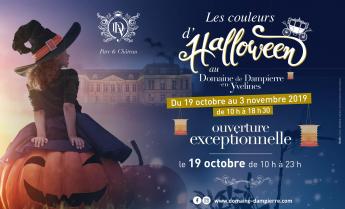 Couleurs d'Halloween au Domaine de Dampierre-en-Yvelines