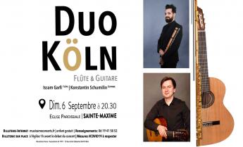 Concert de musique classique à Sainte-Maxime - Dimanche 6 septembre