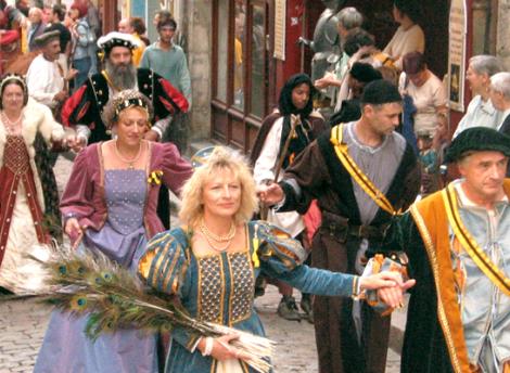 Les rues médiévales du Puy