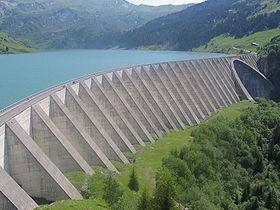 Visite des barrages de Roselend et de la Girotte