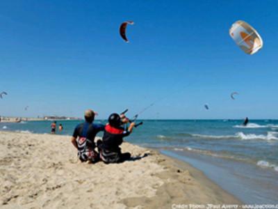 École de kitesurf et de voile